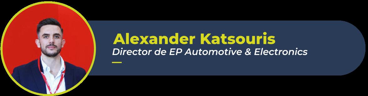 Foto de Alexander Katsouris, director de EP Automotive & electronics